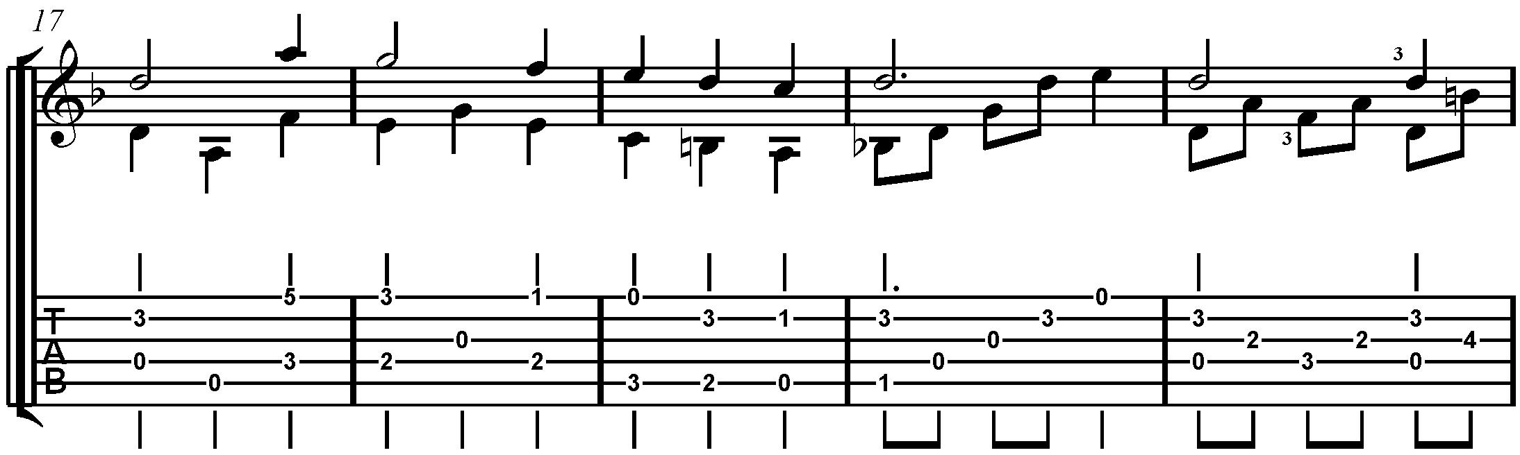 scarborough fair classical guitar pdf