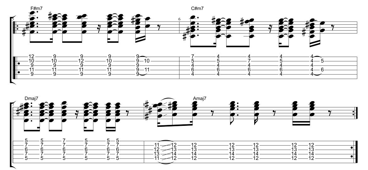 Play Funk Guitar Lesson Nine Fundamental Changes Music Book