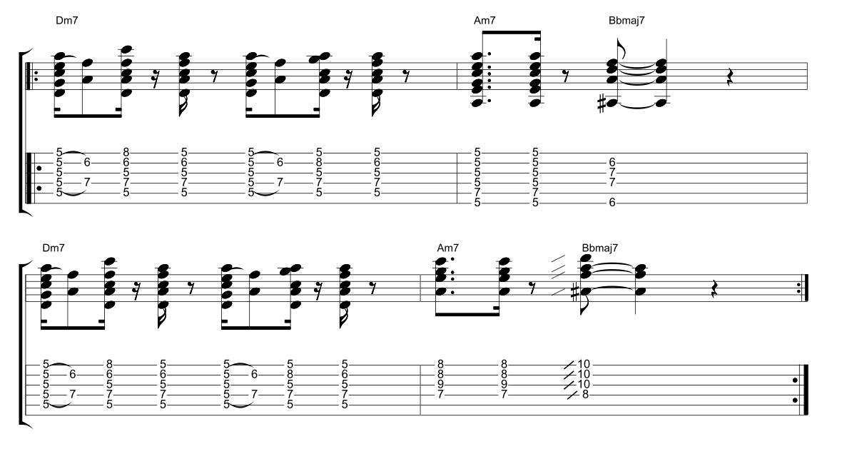 Play Funk Guitar Lesson Ten Fundamental Changes Music Book
