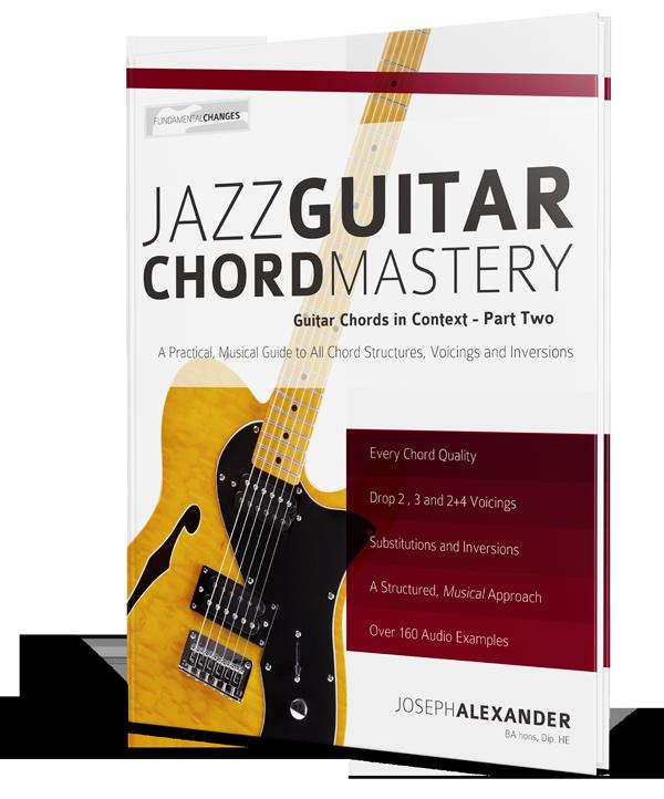 Jazz Guitar Chord Mastery Fundamental Changes Music Book Publishing