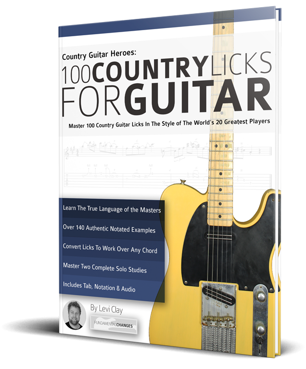 100 Country Licks for Guitar - Fundamental Changes Music Book Publishing