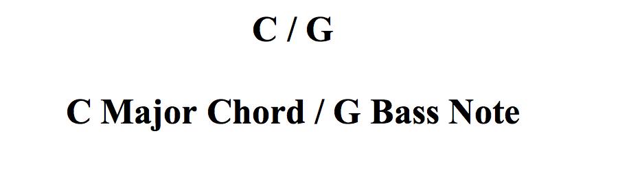 Major Slash Chords Fundamental Changes Music Book Publishing