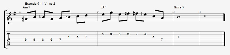 Chromatic Passing Notes Video Lesson 3 Fundamental Changes Music