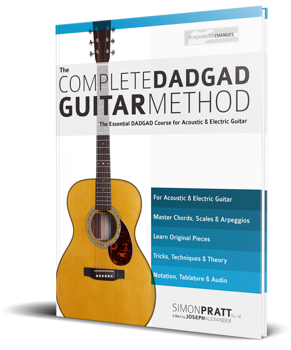 Dadgad Open Chords Fundamental Changes Music Book Publishing