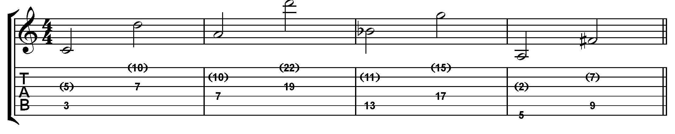 Sight Reading Part 7 – Playing up an octave on guitar - Fundamental