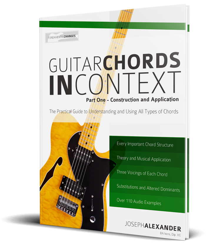 Guitar Chords in Context - Fundamental Changes Music Book Publishing