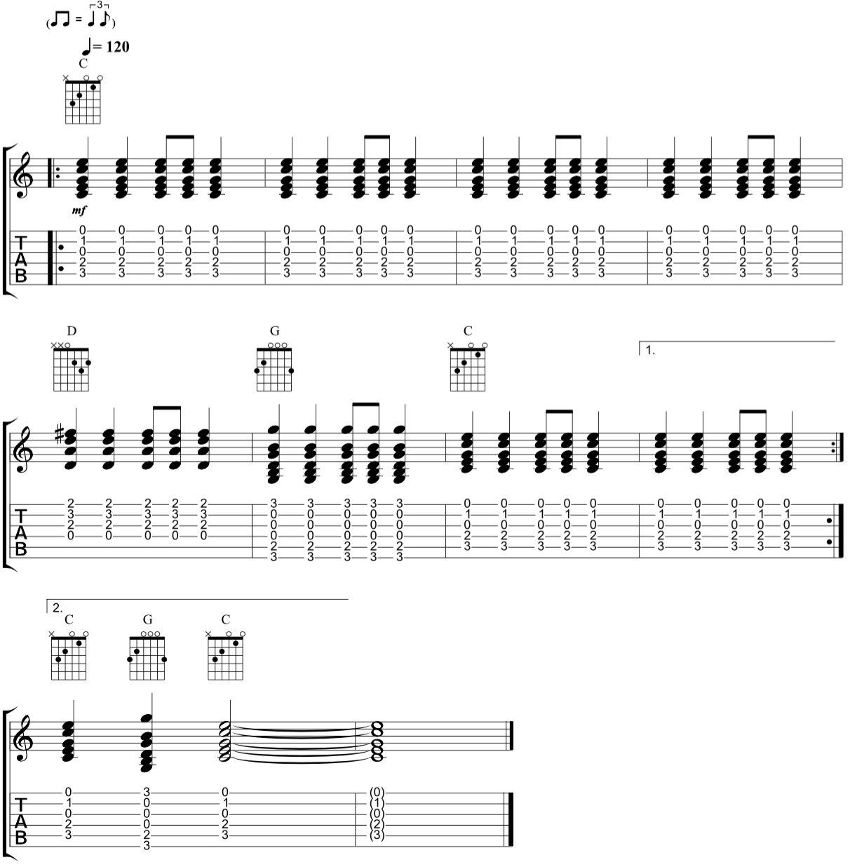 Introduction to Country Rhythm Guitar - Fundamental Changes