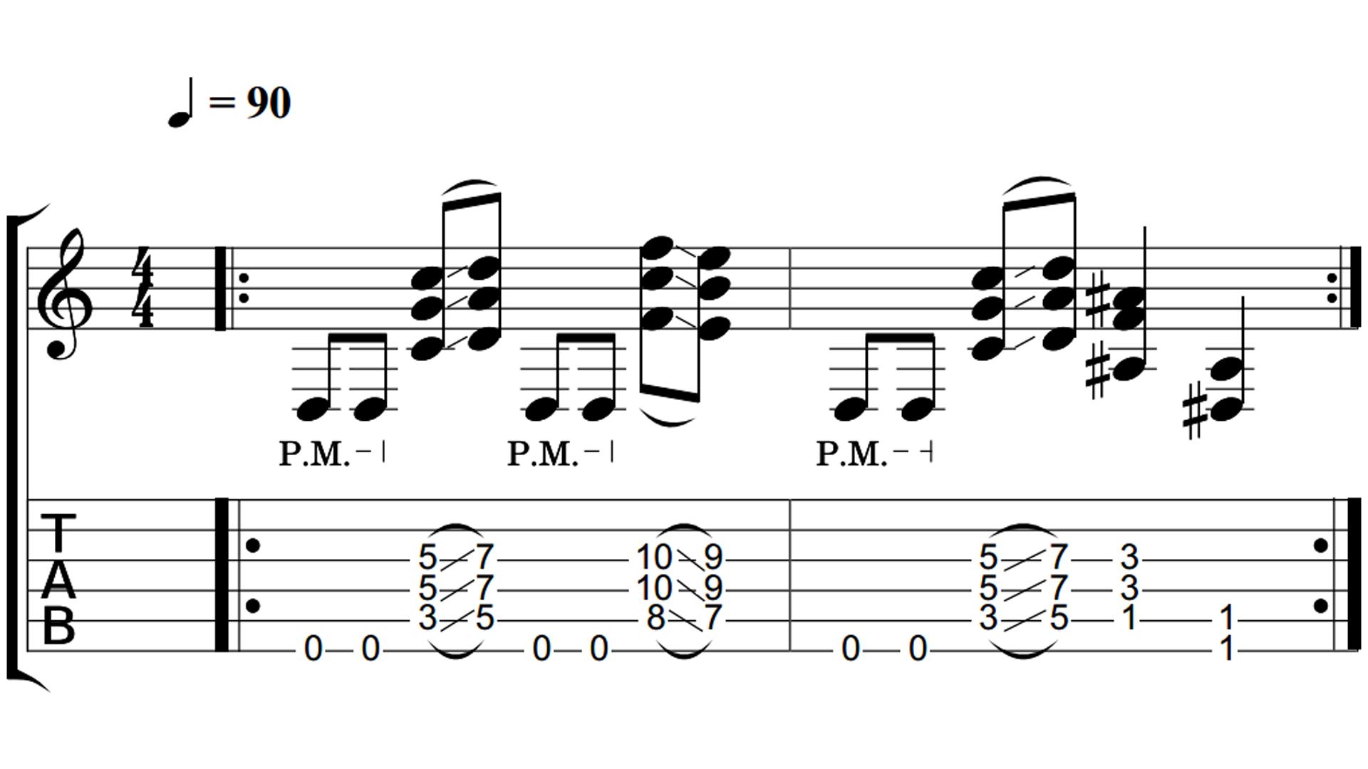 Drop D Rock Riffs - Fundamental Changes Music Book Publishing