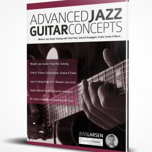 Advanced Jazz Guitar Concepts 3d book image