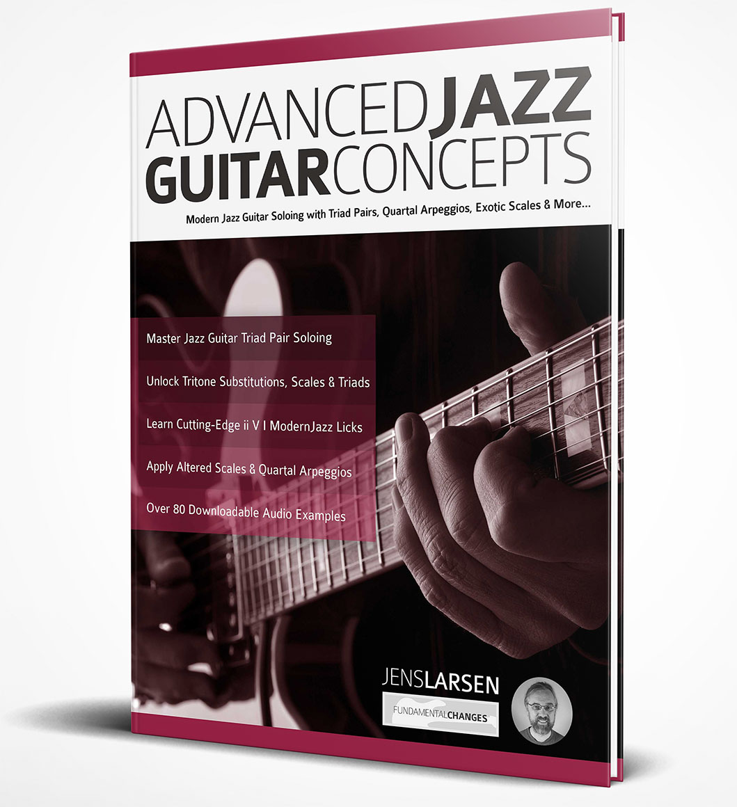 Advanced Jazz Guitar Concepts Book cover