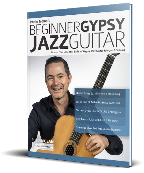 Beginner Gypsy Jazz Guitar 3d web